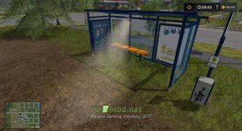 Мод на Bus Stops Including Ticket Receipts для игры Фермер Симулятор 2017