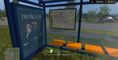 Мод на Bus Stops Including Ticket Receipts