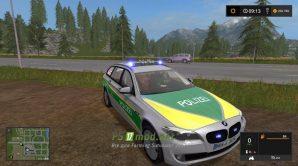 BMW 530 Polizei Bayern