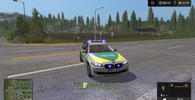 Автомобиль BMW 530 Polizei Bayern