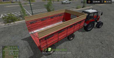 Прицеп 2ПТС-4 Фургон для игры FS 2017