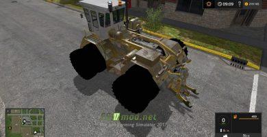 Мод на трактор RABA STEIGER 180 для игры