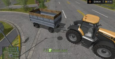 Мод на Fortschritt HW 60.11 для игры Фермер Симулятор 2017