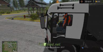 Мод на грузовик MAN 22S TGS для игры Фарминг Симулятор 2017