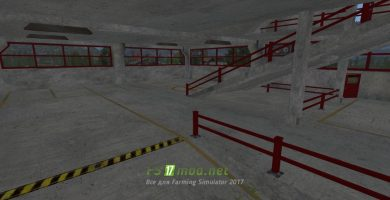 Мод на 3-Х Этажную парковку для игры Farming Simulator 2017