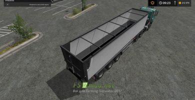Мод на прицеп Kroger Agroliner SRB35
