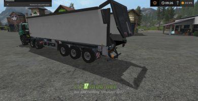 прицеп Kroger Agroliner SRB35