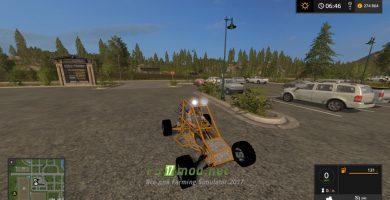 Мод на Skrazy Kart 17 для игры Симулятор Фермера 2017