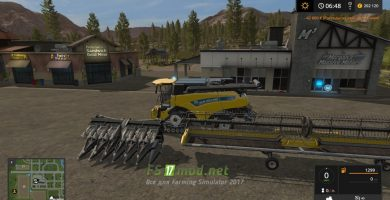 Мод на пак New Holland CR1090 Pack Morerealistic