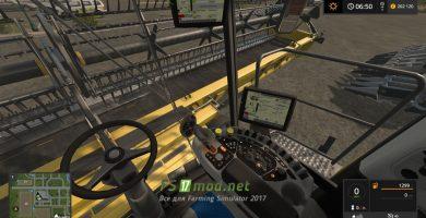 Мод на пак New Holland CR1090 Pack Morerealistic для игры Фермер Симулятор 2017