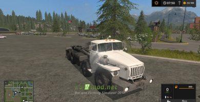Тягач УРАЛ 6614 Hook Lift для игры Фермер Симулятор 2017