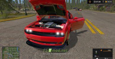 Dodge Challenger Srt Hellcat (LC)