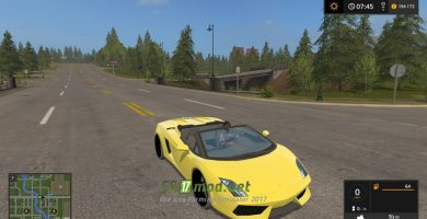 Мод Lamborghini Gallardo Spyder