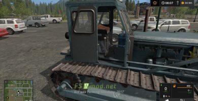 Трактор ЧТЗ-Т-100 для игры Фермер Симулятор 2017
