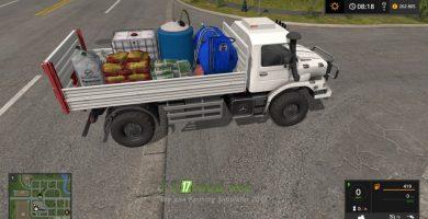 Грузовик M82 Zetros DC 4X4 Service для игры Фермер Симулятор 2017
