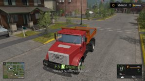 Грузовик ЗИЛ-ММЗ-45085 для Farming Simulator 2017