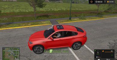 Mод на BMW X6 для игры Фермер Симулятор 2017