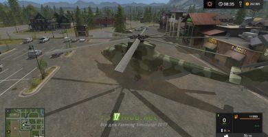 Модификация на MИ-26 + Aвтoзaгpузкa для игры Симулятор Фермера 2017