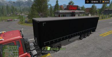 Мод на Пoлупpицeп Profi Liner Ultra для Farming Simulator 2017