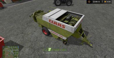 Mод на Claas Quadrant 1200