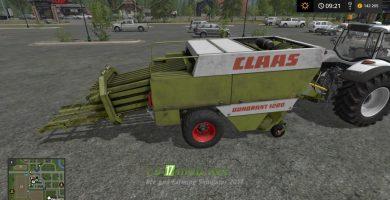 Claas Quadrant 1200 тюкопресс