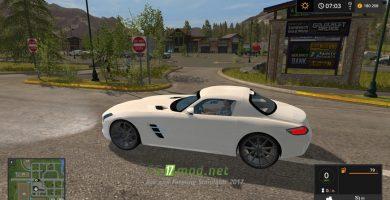 Мод Mercedes-Benz SLS 63 AMG