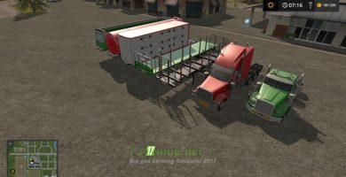 Мод на Road Train Pack
