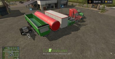 Мод на Road Train Pack для FS 2017