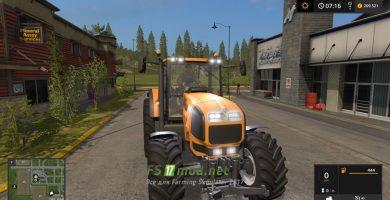 Трактор Renault Atles 925RZ фары
