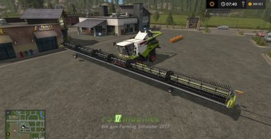 Claas Lexion Ultimate Map