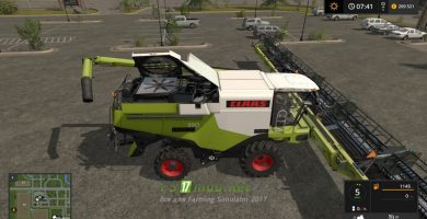 Claas Lexion Ultimate Map Pack