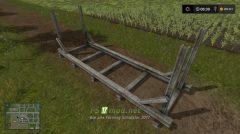 Конструкция для хранения древесины