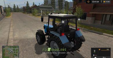 Трактор МТЗ 82.1 для игры Фермер Симулятор 2017