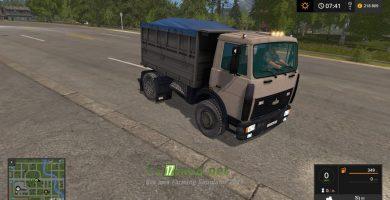Мод на МАЗ-5551