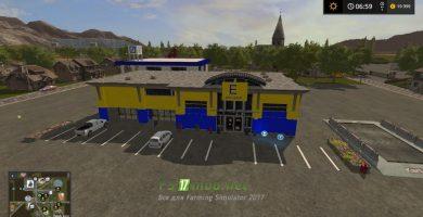 Карта Bergsee Map для Farming Simulator 2017
