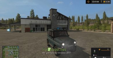 Автомобиль УАЗ для Farming Simulator 2017