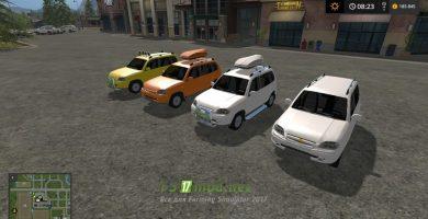 Мод на автомобиль Нива Chevrolet