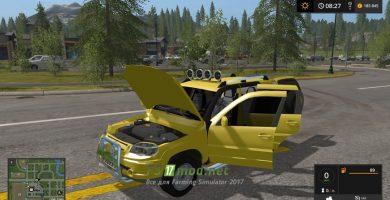 Мод на автомобиль Нива Chevrolet для Farming Simulator 2017