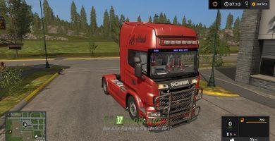 Scania R720 V8