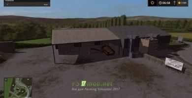 Карта Dowland Farm для игры Фарминг Симулятор 2017