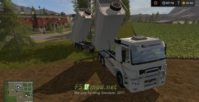 Мод на КамАЗ K3340 6580 для Farming Simulator 2017