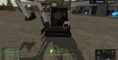 KST Bobcat Mini Excavator