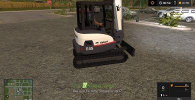 Мод на KST Bobcat Mini Excavator