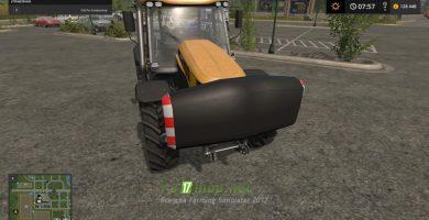 Мод на пак противовесов для Farming Simulator 2017