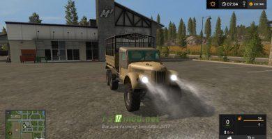 ГAЗ-69 для перевозки животных в Farming Simulator 2017