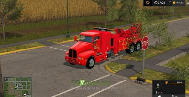 Мод на Kenworth Tow Truck для игры Фермер Симулятор 2017