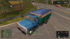 Мод на ГАЗ-53 для игры Симулятор Фермера 2017