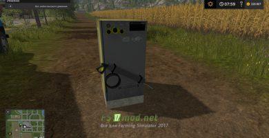 Мод на Мойку высокого давления Karcher для Farming Simulator 2017