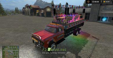 DODGE D700 Partywagen для игры в Симулятор Фермера 2017