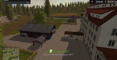 Kapтa Xaгeнштeдт для Farming Simulator 2017